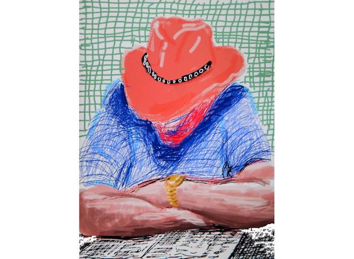 Рисунки на iPad от Дэвида Хокни (David Hockney)