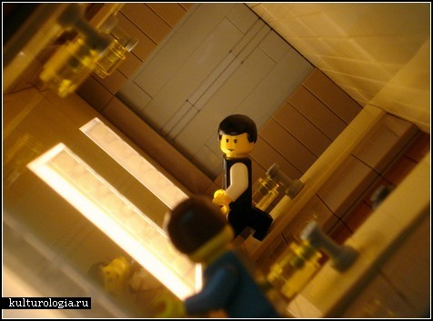 Фигурки из LEGO от Alex Eylar. Сценки из фильма «Начало»
