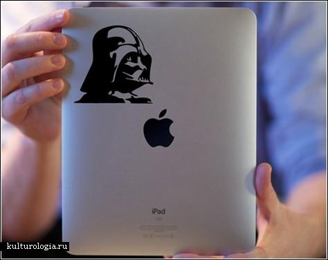 Стикеры. Как сделать iPad уникальным?