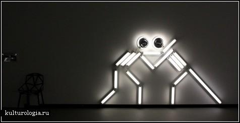 Световые инсталляции из бытовых вещей