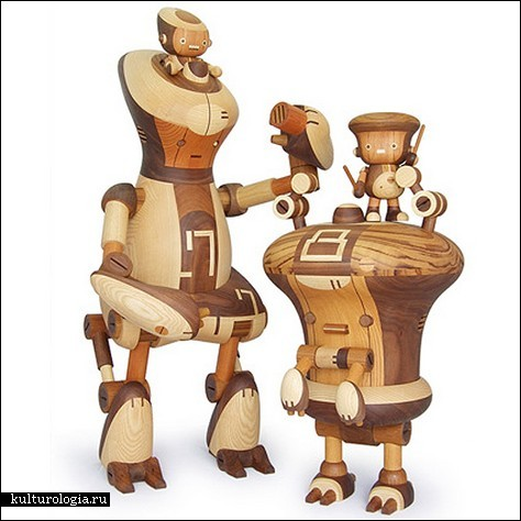 Деревянные роботы – древнее японское искусство в новых реалиях