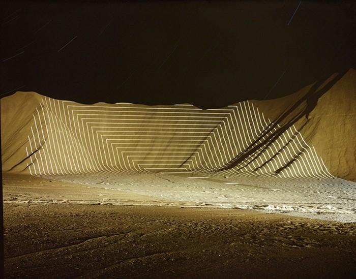 Топографические проекции от Джима Сэнборна (Jim Sanborn)