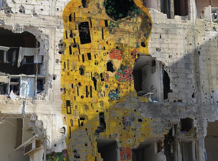 Ужасы гражданской войны в Сирии в работах Тамама Аззама (Tammam Azzam)