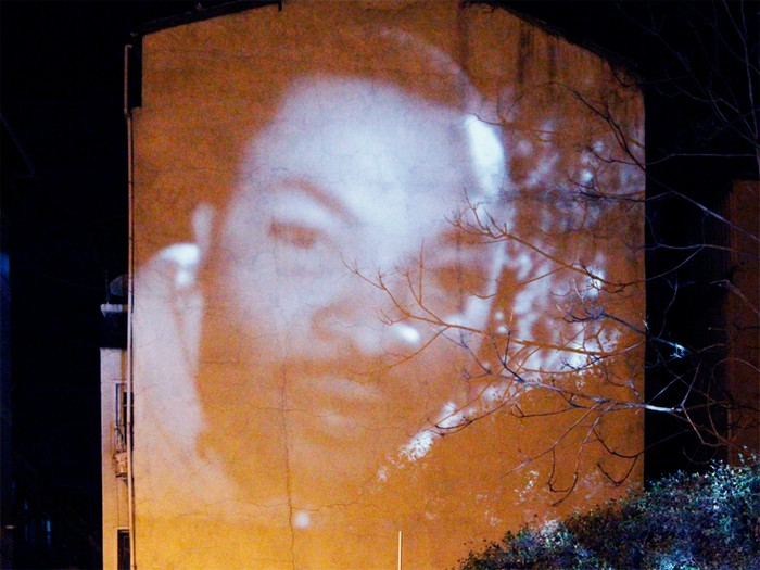 Kopf Kino – лица прохожих на всю стену от On/Off