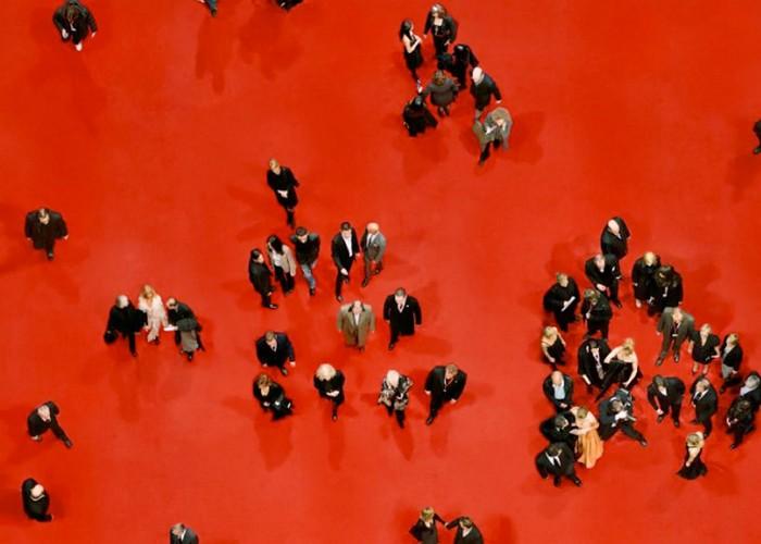 Фотографии людей с высоты птичьего полета от Кэтрин Корфман (Katrin Korfmann)