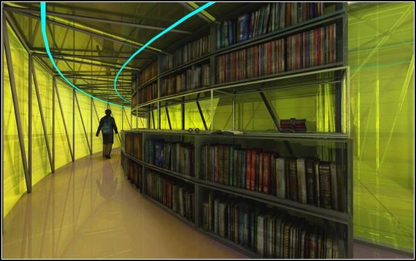 Laurentius Library – библиотека, вдохновленная ангелами
