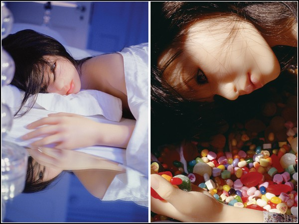 The love doll: days 1-30. День 8, Лежа на кровати. День 14, Конфеты