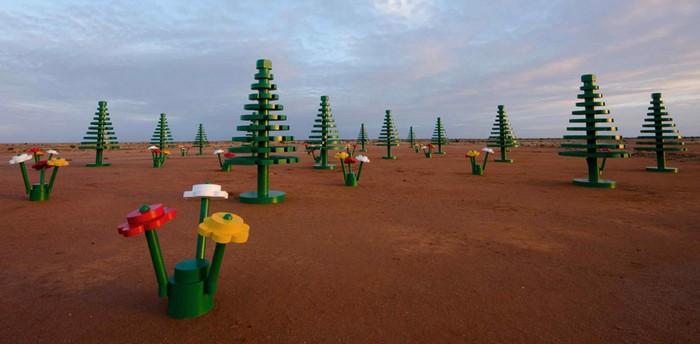 LEGO-лес в австралийской глубинке