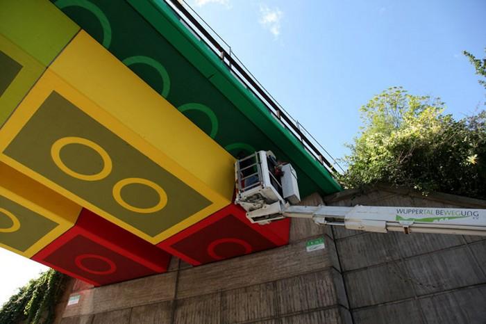 LEGO-мост – новое украшение Вупперталя