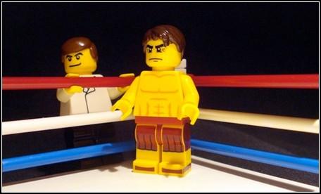 LEGO, Боец