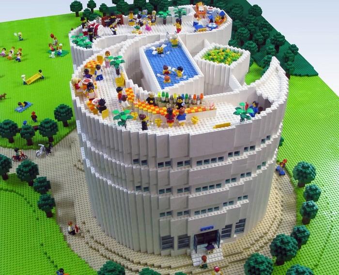 LEGO-логотип для The New York Times