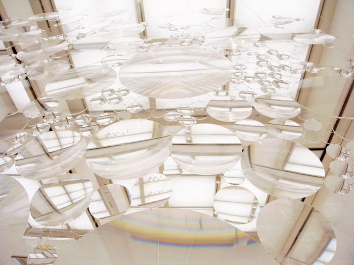 Архитектурная инсталляция Contact Lens от Харуки Коджины (Haruka Kojin