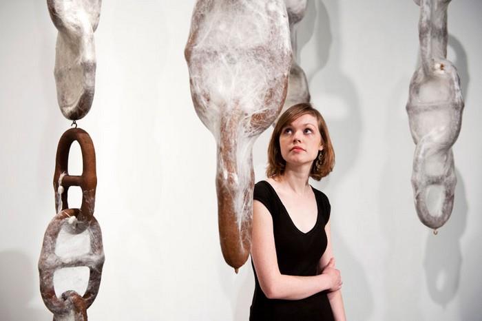 Творчество тутовых шелкопрядов - необычный арт-проект от Лян Шаоцзи (Liang Shaoji)