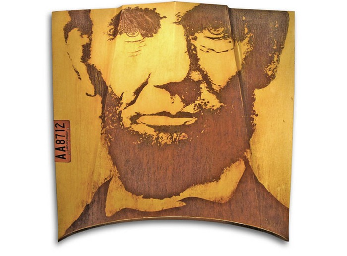Lincoln Continental – отличная основа для портрета Авраама Линкольна