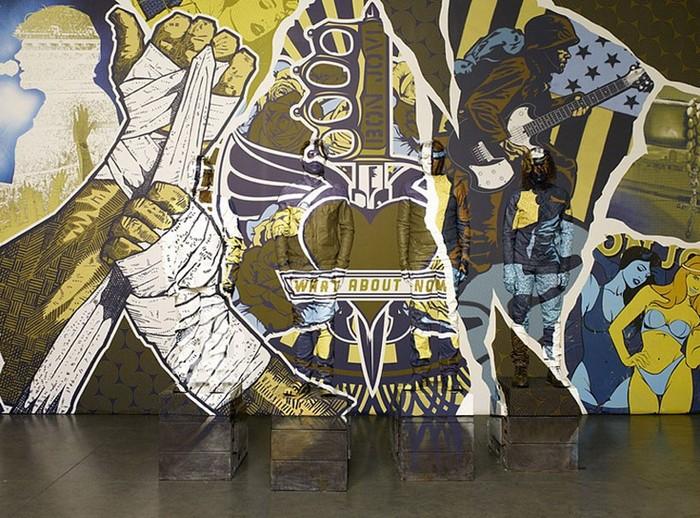 Персональная выставка Лю Болиня (Liu Bolin) в галерее Eli Klein Gallery в Нью-Йорке