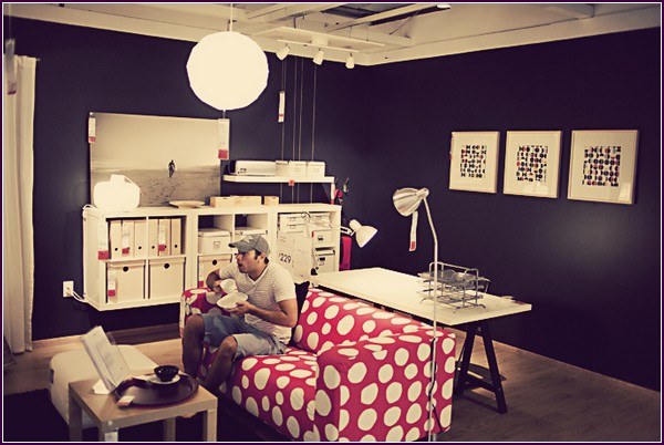 Серия фотографий «What if you lived at IKEA?» от Кристиана Гидеона (Christian Gideon)