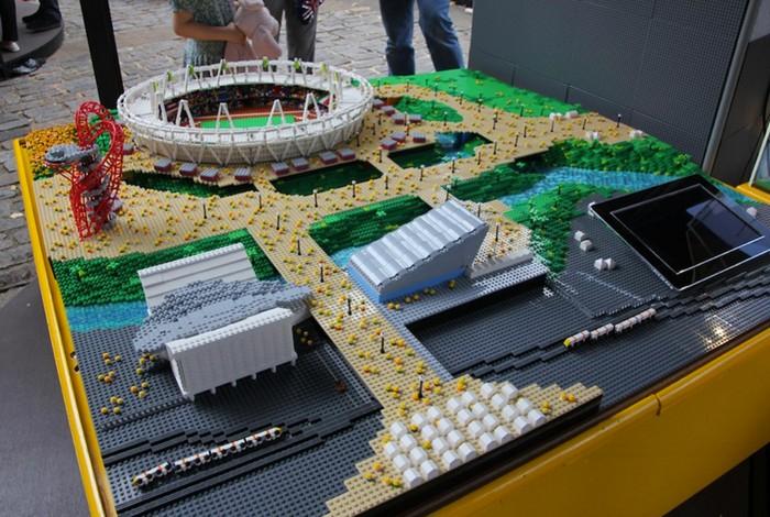 Lego олимпиада олимпийская деревня из