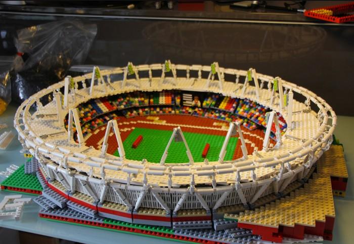 LEGO-Олимпиада: Олимпийская деревня из конструктора