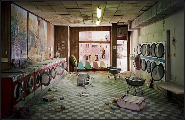 Смерть городов в работах Лири Никс (Lori Nix)
