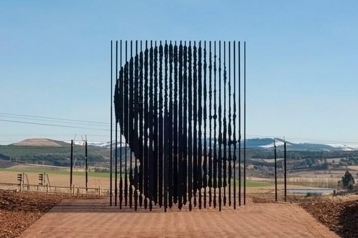 Монумент Нельсона Манделы от Марко Чианфанелли (Marco Cianfanelli)