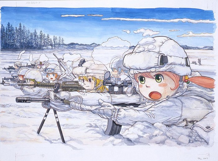 Японские бедствия в видении Масакацу Ивамото (Masakatsu Iwamoto)