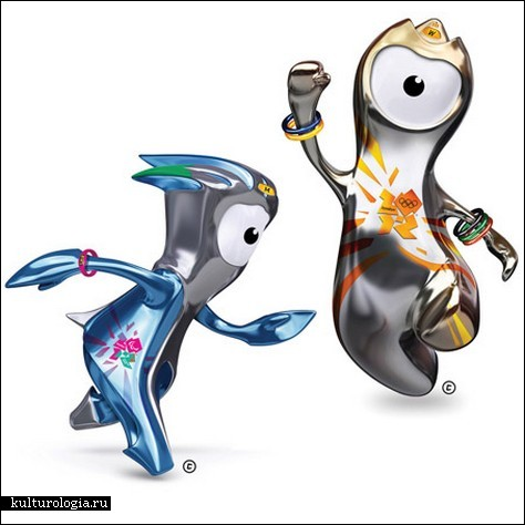 Уэнлок и Мандевилл – талисманы Олимпиады в Лондоне