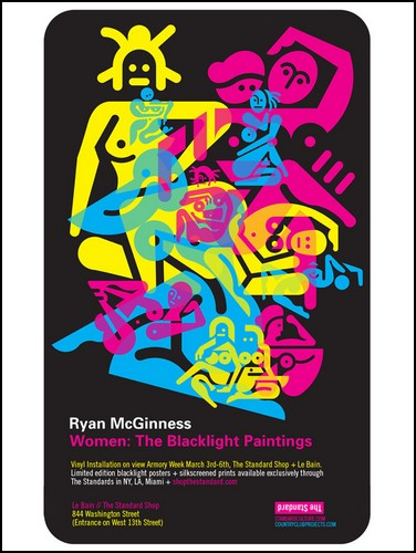 Женщины Райана МакГиннесса (Ryan McGinness)