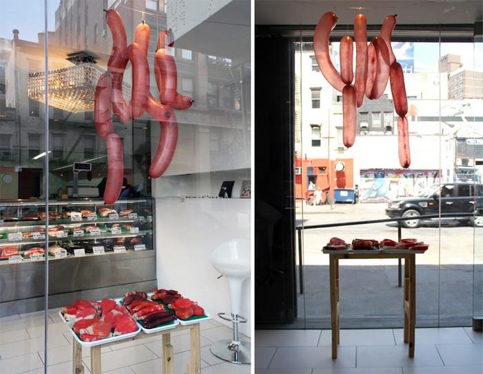 Meat Balloons – воздушные шары в виде мяса. Необычное изделие от студии ODL
