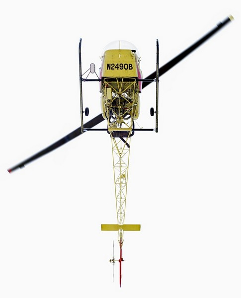 Взгляд снизу на самолеты и вертолеты от Джеффри Мильштейна (Jeffrey Milstein)