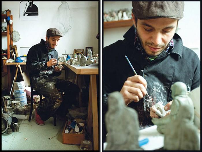 Миниатюрные миры от Исаака Кордала (Isaac Cordal)