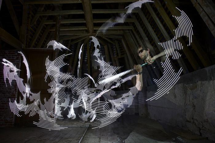 The Path of the Sword – световые инсталляции от Морица Вальдмеера (Moritz Waldemeyer)