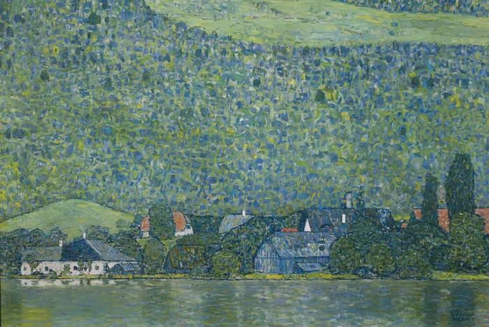 Лицльберг на Аттерзее, Густав Климт