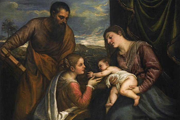 Мадонна и ребенок, Тициан