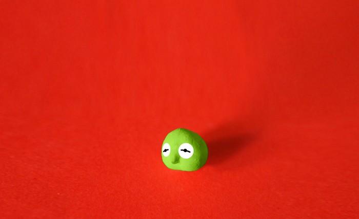 Mr. Chickpea – миниатюрный гороховый человечек от Сади Текина (Sadi Tekin)