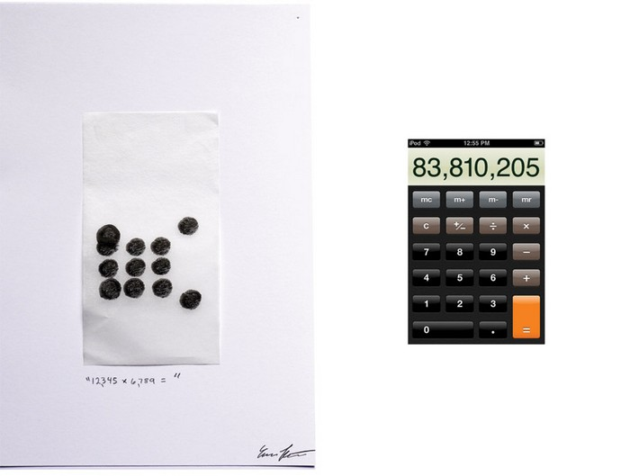 12,345 + 6,789=, Multi-touch Finger Paintings, Evan Roth