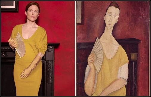 Ожившие картины в fashion-фотосессии Питера Линдберга (Peter Lindberg)