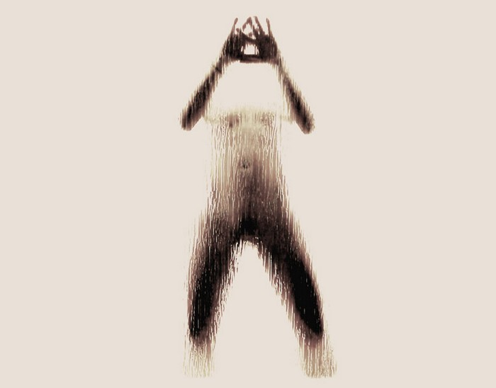 Naked Silhouette Alphabet – алфавит обнаженных женских тел