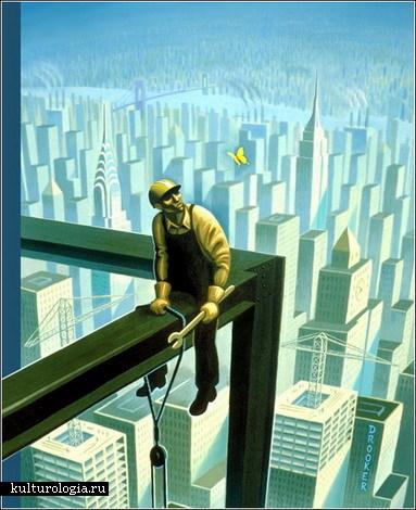 Жизнь ньюйоркца на обложках журнала New Yorker