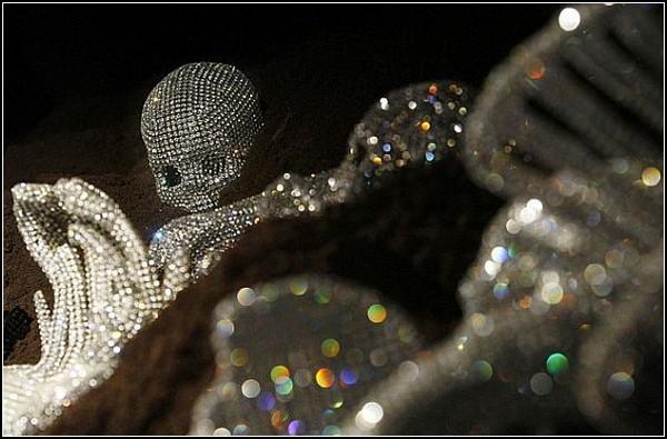 Инсталляции из кристаллов Swarovski от Николы Боллы (Nicola Bolla)