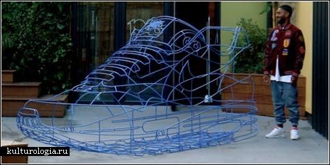 Гигантский Nike для гигантских спортсменов