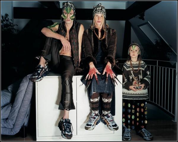 Первобытные племена в современных субкультурах