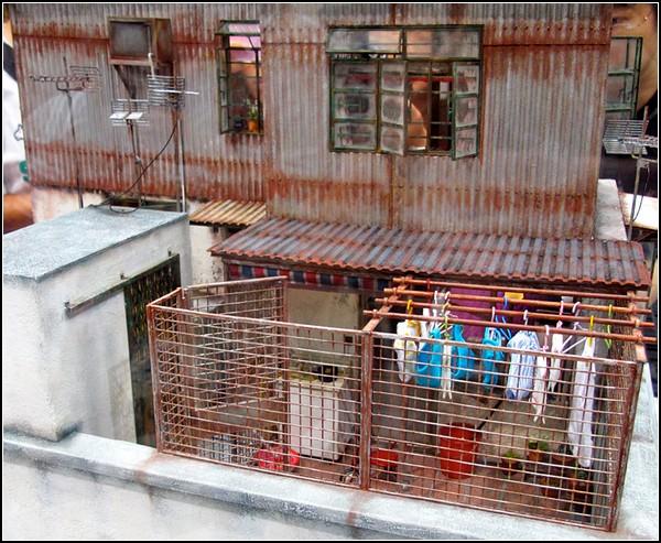 Старый Гонконг в скульптурах-миниатюрах