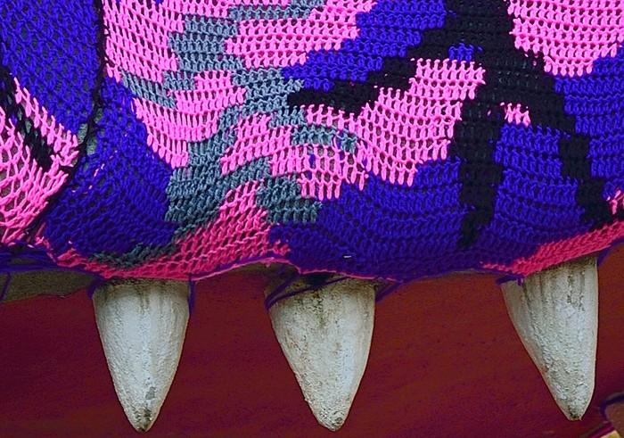 В'язаний крокодил в Сан-Паулу від Агати Олек