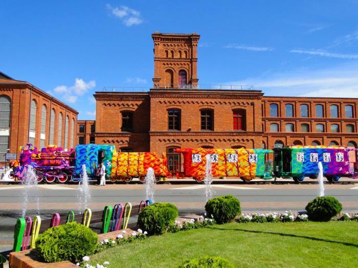 Нове плаття для паровоза: наймасштабніший проект від Olek