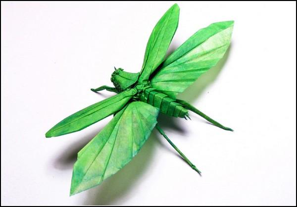 Современные оригами от Брайана Чена (Brian Chan)