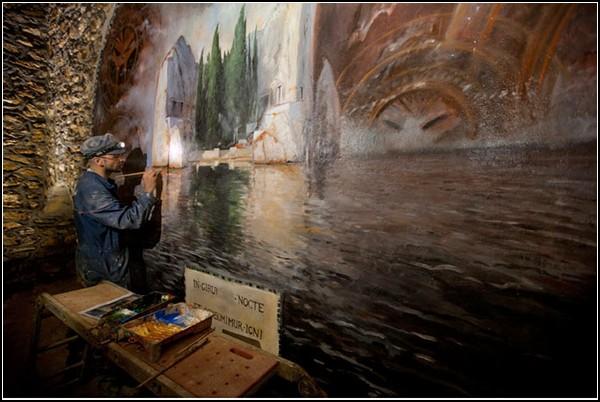 Парижские подземелья от Стивена Алвареза (Stephen Alvarez)
