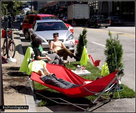 PARK(ing) Day – «зеленый» день на улицах мира
