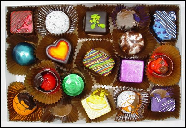 Гигантские сладости для маленьких людей