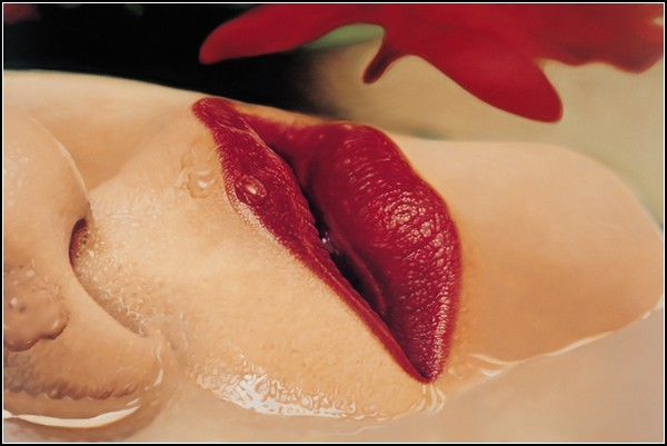 История одних губ на гиперреалистичных картинах Сун Джин Кима (Sung Jin Kim)