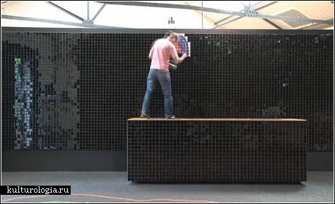 Пиксельные стенды для NIKE